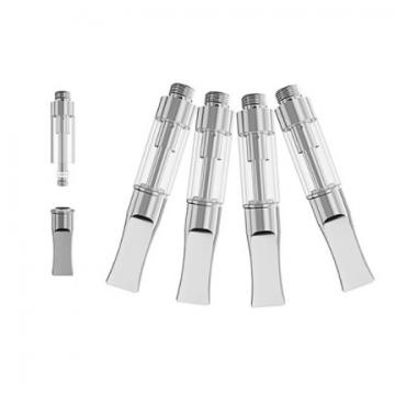 Supply wholesale high quality bulk empty 0.5ml thick cbd oil ceramic coil cartridge disposable vape pen